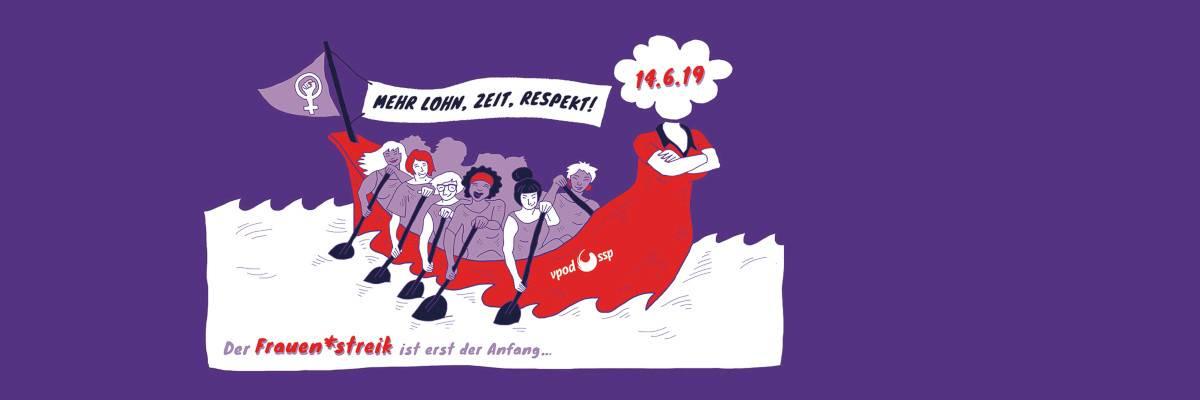 Frauen*streik in der Zentralschweiz
