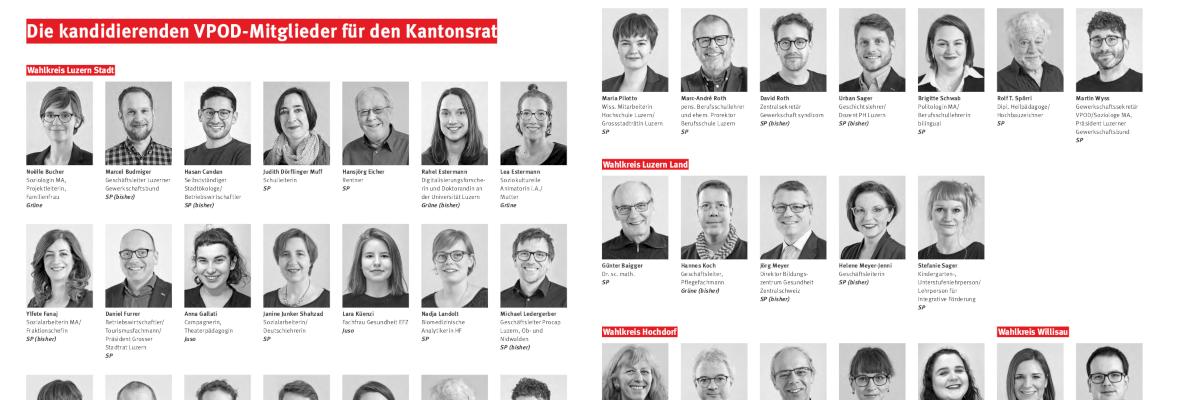 Kantonsrats- und Regierungsratswahlen Kanton Luzern