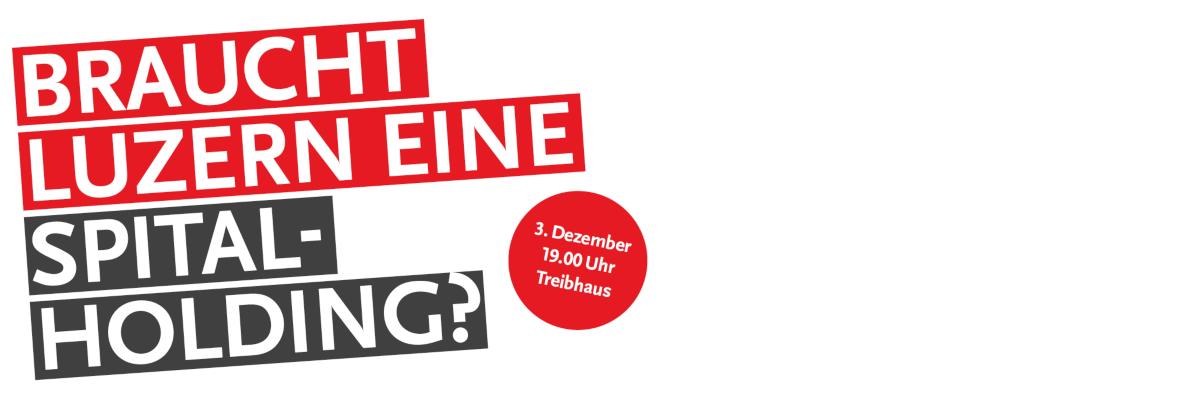 Braucht Luzern eine Spital-Holding?